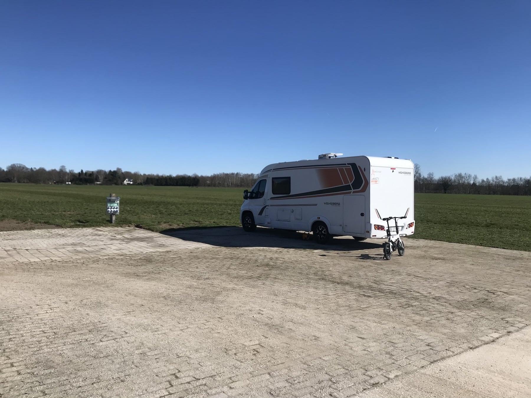 Campen mit Abstand