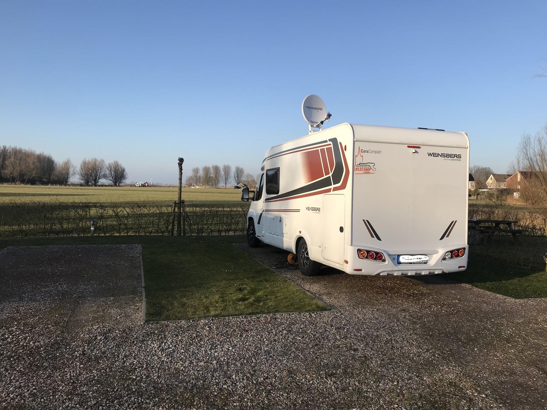 Tolle Wohnmobil  Stellplätze in Holland