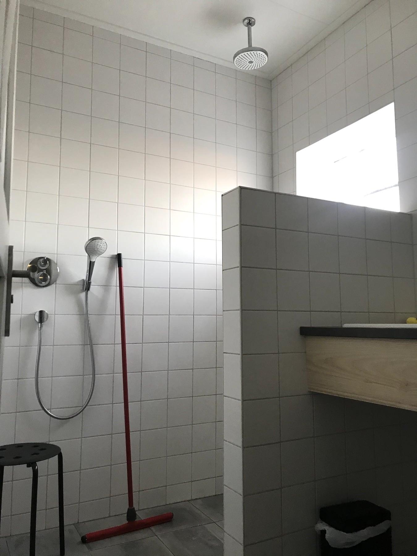 Stellplatz mit Dusche