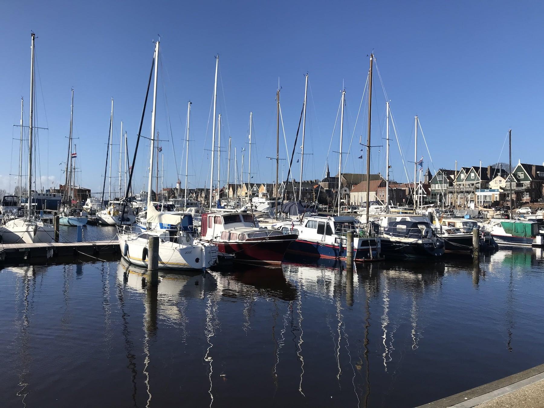 Hafen Urk Wohnmobil Niederlande