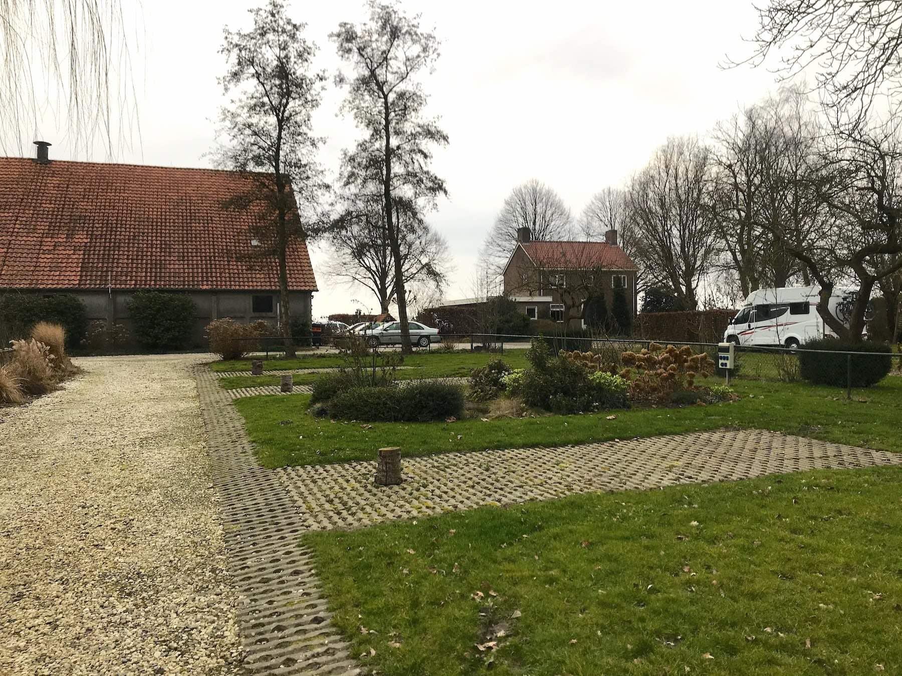 Wohnmobil Tour durch Holland Bauernhof