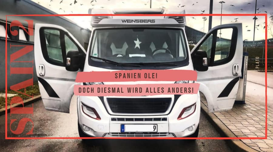 Camping in Spanien Wohnmobil