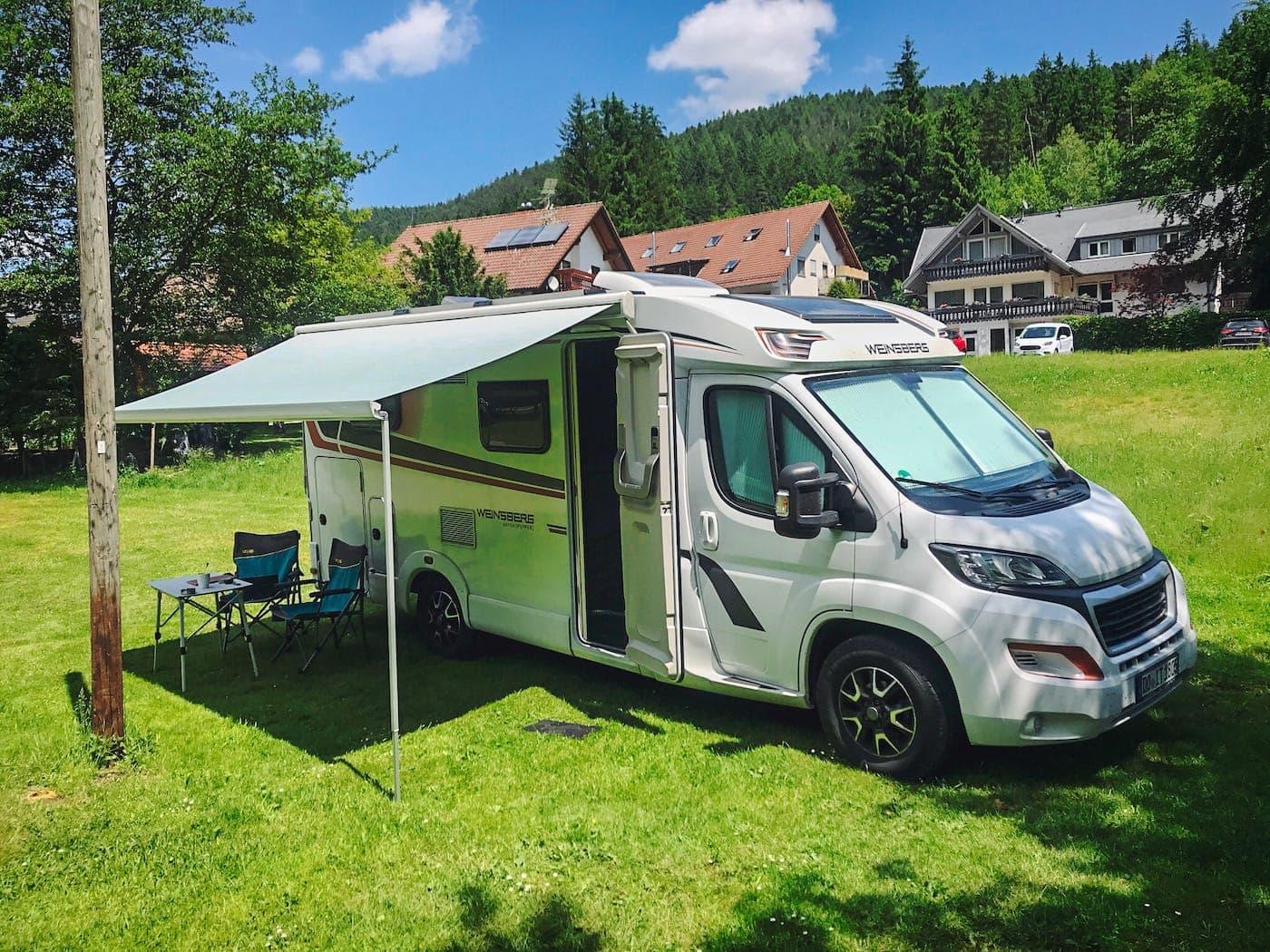 Campingplatz Alpirsbach Schwarzwald