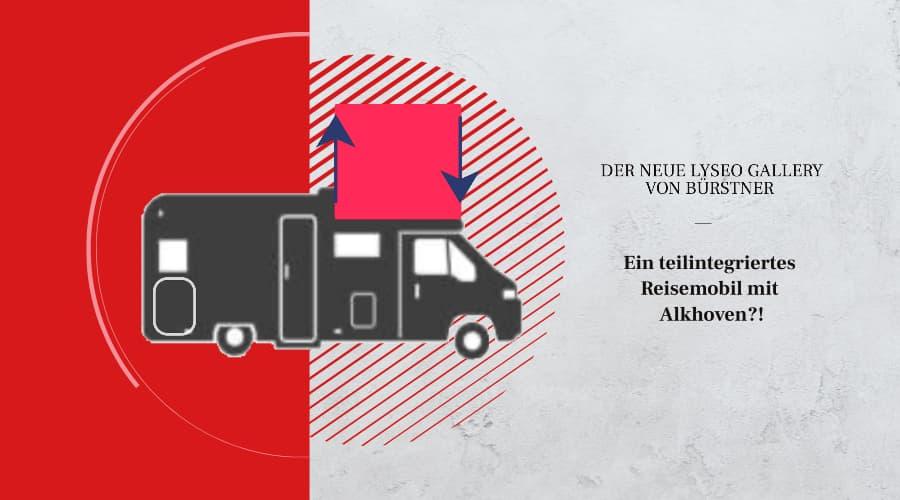 Teilintegriertes Wohnmobil mit Alkoven, Lyseo Gallery von Bürstner