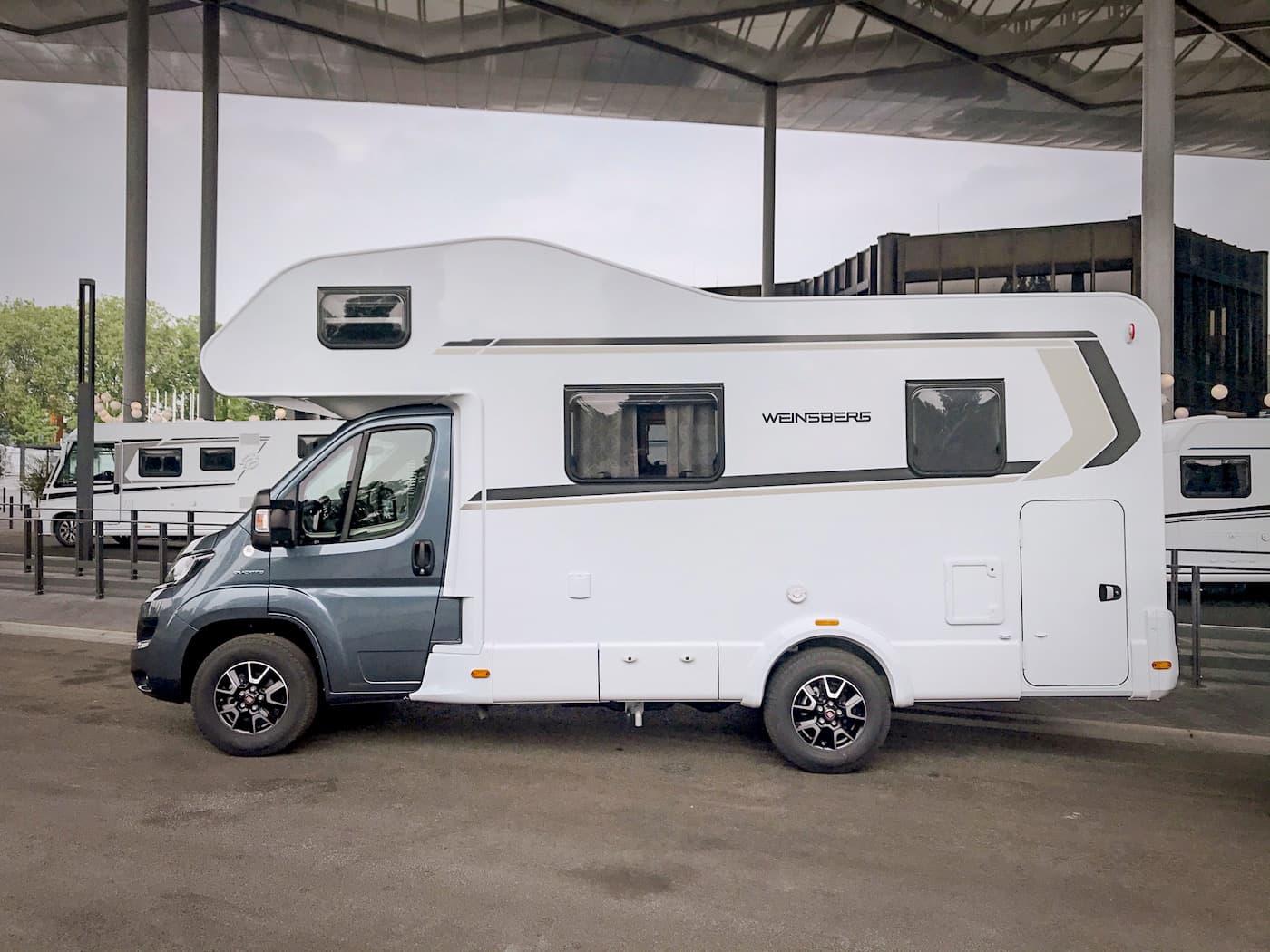 Alkoven Wohnmobil Knaus Weinsberg