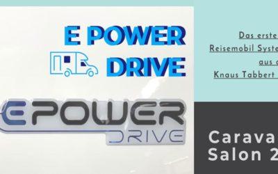 Das erste E-Wohnmobil System by Knaus Tabbert – E POWER DRIVE