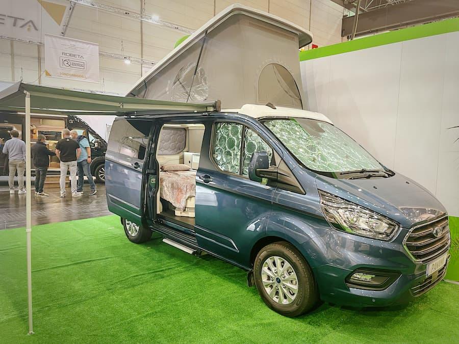 Der Panama Van von außen