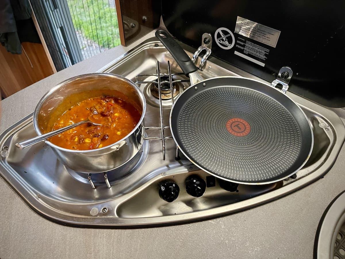 Chili con Carne für Camper