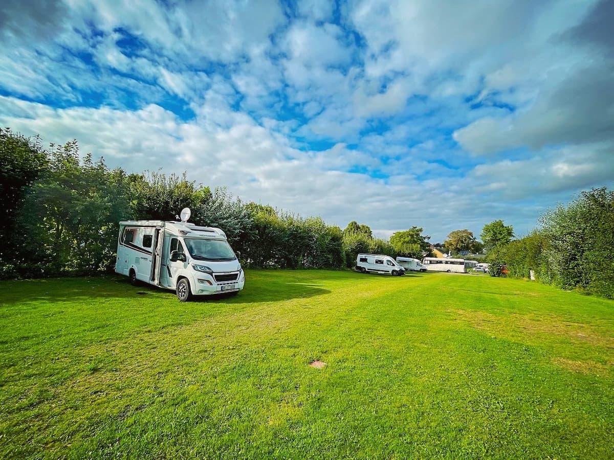 Campingplatz im Norden, Flensburg Jarplund